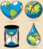 Concepts 2 d'écologie Photo libre de droits