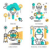 Concepts of Analysis, Key person Stock Image