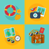 Concepts and banners  of travel, summer Stock Images