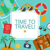 Concepts and banners  of travel, summer Royalty Free Stock Photography