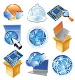 Concepts for IT-business Stock Image