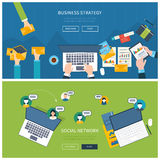 Concepts for business analysis, consulting Stock Image