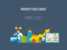 Concepts for business analysis, financial report and strategy.  Property investment Stock Photo