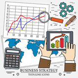 Concepts for business analysis and planning, consulting Stock Images