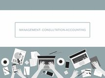 Concepts For Business, Marketing, Management, Accounting. Royalty Free Stock Images