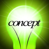 Concepts Concept Indicates Thoughts Invention And Theory Royalty Free Stock Image