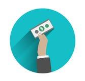Concepts d'action de main d'affaires Photo stock