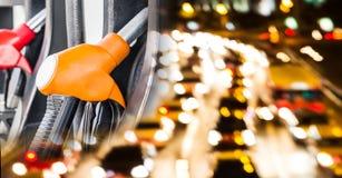 Concepts d'affaires d'huile images libres de droits