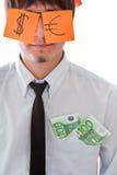 Concepts d'argent Photos libres de droits