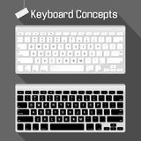 Concepts de clavier Photographie stock