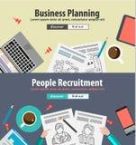 Concepts de construction pour la solution d'affaires et la gestion financière Photo libre de droits