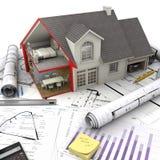Concepts de logement Photographie stock libre de droits