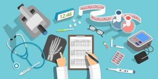Concepts de médecine et de soins de santé Photo libre de droits