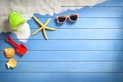Concepts de vacances d'été Photos stock