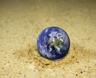Concepts of Earth protection. Stock Photos