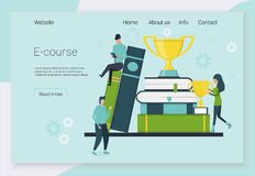 Concepts for language courses stock photography