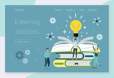 Concepts for language courses vector illustration