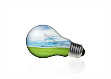 Concepts in light bulb Stock Images