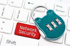 Concepts Network security. Royalty Free Stock Image