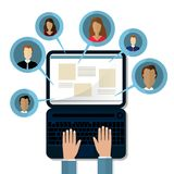 Concepts for Searching people, employees, candidates, team members.   Stock Photography