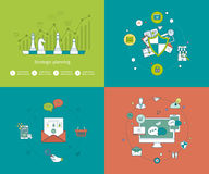 Concepts for strategy planning and successful Royalty Free Stock Photography
