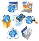 Concepts for technology Royalty Free Stock Photo
