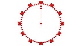 Concepts : Temps d'amour rendu 3d illustration stock