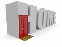 Free Conceptual 3d Home Stock Image - 9011951