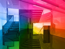 Conceptual architecture Stock Photo