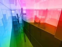 Conceptual architecture Stock Image