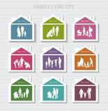Conceptual Banner for Family. Stock Photo