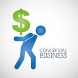 Conceptual business Stock Photo