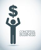 Conceptual business Stock Image