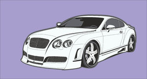The conceptual car stock photos