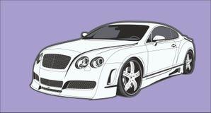The conceptual car vector illustration