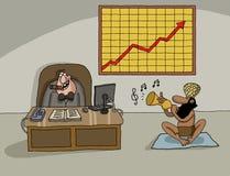 Free Conceptual Cartoon About Company Profit Stock Photo - 55474850