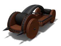 Conceptual catapult design Royalty Free Stock Photos