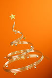 Conceptual Chrstmas Tree Stock Photography