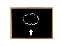 Conceptual Cloud Royalty Free Stock Image