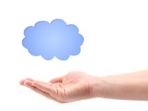 Conceptual Cloud Royalty Free Stock Images