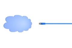 Conceptual Cloud Royalty Free Stock Photos