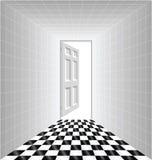 Conceptual corridor Stock Image
