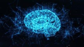 Digital Brain Ai Artificial Intelligence Deep Data Machine Learning loop 4k