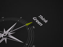 Conceptual 3D Compass Stock Photos