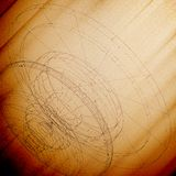 Conceptual design template. Abstract wooden Stock Image