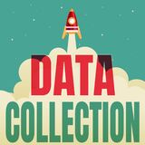 Conceptual display Data Collection. Business overview gathering and measuring information on targeted variables Abstract