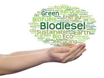 Conceptual ecology word cloud isolated Stock Photography