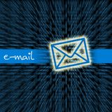 Conceptual email Royalty Free Stock Photo