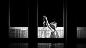 Conceptual example on life in prison 3d rendering. Conceptual example on life in prison Royalty Free Stock Images