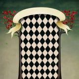 Fantasy background Wonderland stock illustration